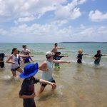 New Year Beach training