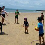 2018 New year beach training