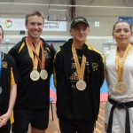 Bubishi Squad members competed on the victorious QLD state team