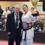 Sensei Kahlia 2019 female Champion of Champions