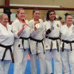 Sensei Kahlia National Champ  - Female heavy weight division
